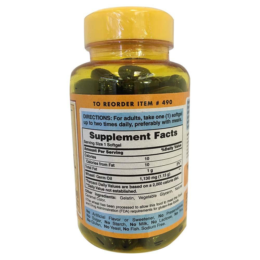 Puritan's Pride - Wheat Germ Oil 1130 mg