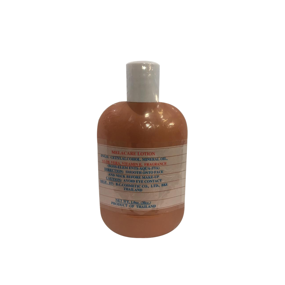 Melacare lotion front