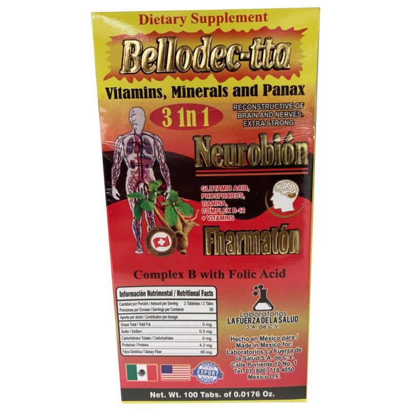 Bellodec-tta - Neurobion