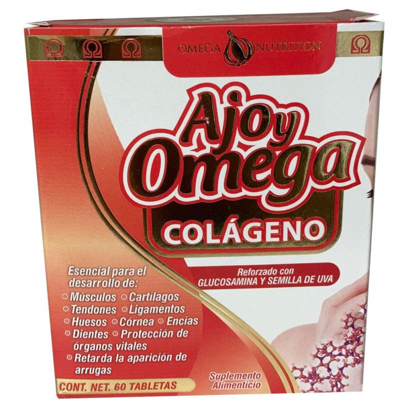 Ajo y Omega - Colágeno