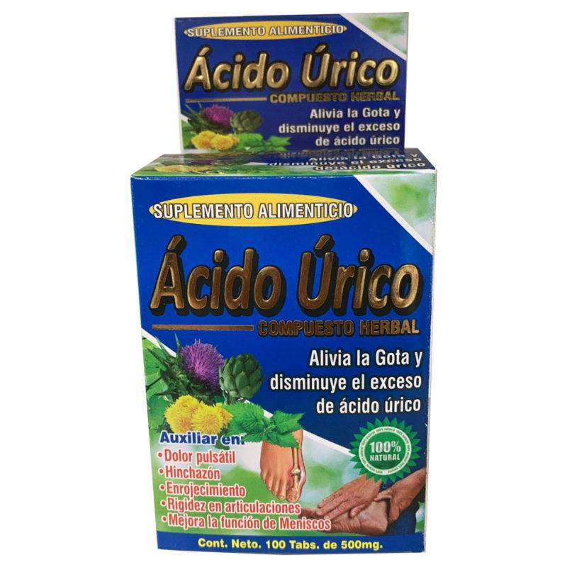 La Fuerza de la Salud - Acido Urico