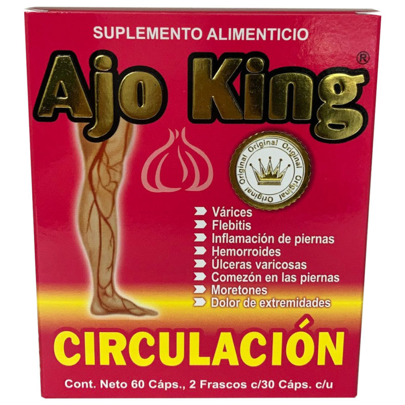 Ajo King - Circulación